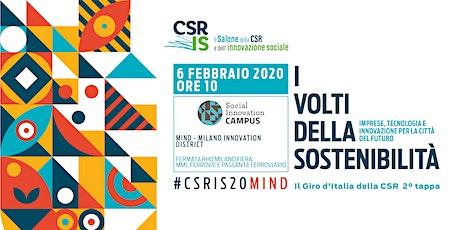 Il Salone della CSR e dell'innovazione sociale - MIND biglietti