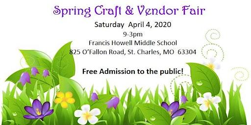FHMS Spring Craft & Vendor Fair
