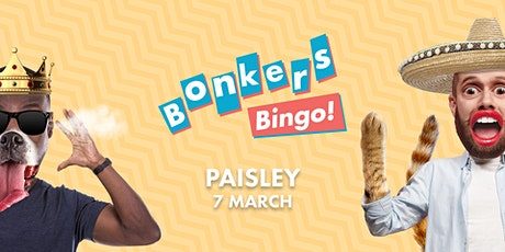 Bonkers Bingo - GBX Micheal Smith tickets