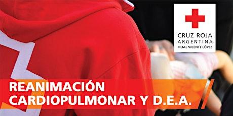 RCP - Reanimación Cardio Pulmonar 14/03/2020 (9 a 13hs) entradas