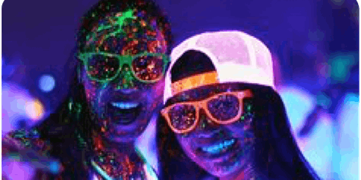 Lets Glow Girls!! Wickfest Surrey 2020 - Opening Party