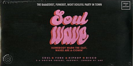 Soulwave: The Launch Party tickets