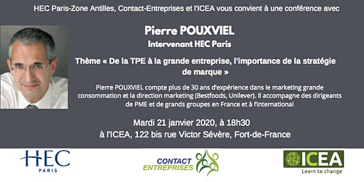 CONFÉRENCE PIERRE POUXVIEL, HEC PARIS