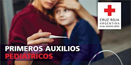 Curso de Primeros Auxilios Pediátricos 21/03/2020 (8:30 a 13:30hs) entradas