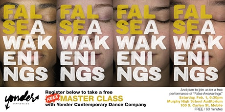 Dance Workshop presented by Yonder Dance Company/The University of Alabama tickets