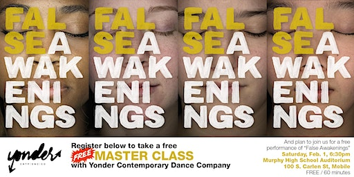 Dance Workshop presented by Yonder Dance Company/The University of Alabama
