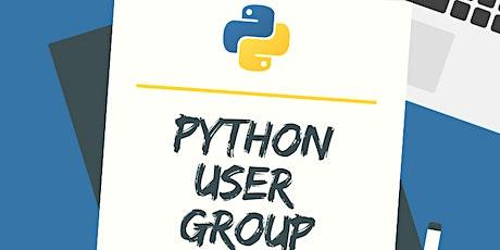 Python User Group billets