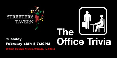 The Office Trivia at Streeters Tavern tickets