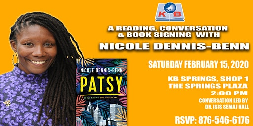 Nicole Dennis Benn Book Signing (Author of Patsy & Here Comes the Sun)