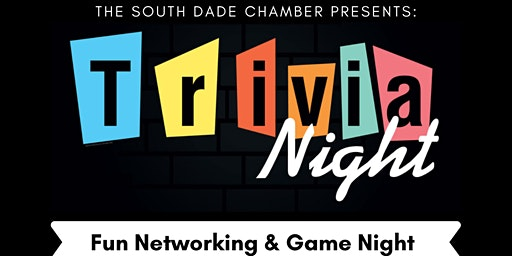 Trivia Night   Fun Networking & Game Night
