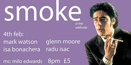 Smoke Comedy featuring Mark Watson and Glenn Moore tickets