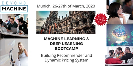 Machine Learning & Deep Learning Bootcamp: Building Recommender System+Dynamic Pricing tickets