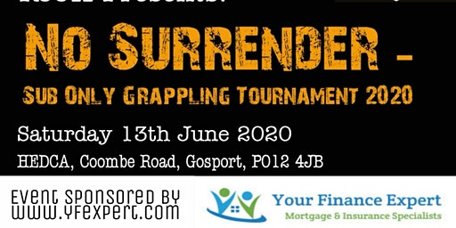 No Surrender Sub Only Grappling Tournament