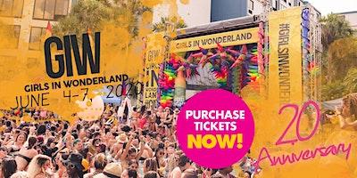 Girls in Wonderland / Tickets / June 4- June 7, 2020