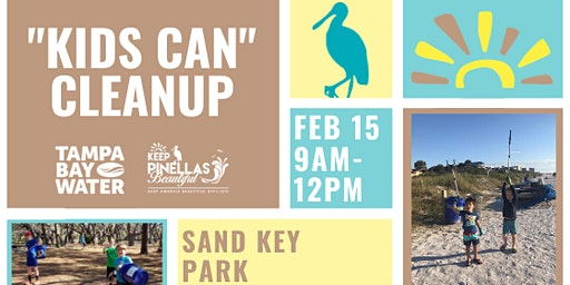 """""""Kids Can"""" Cleanup Event - Sand Key Park"""