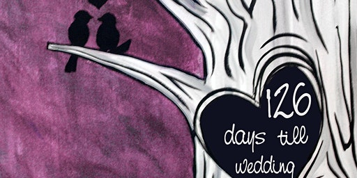 Wedding Countdown Love Tree at Old New and Something Blue