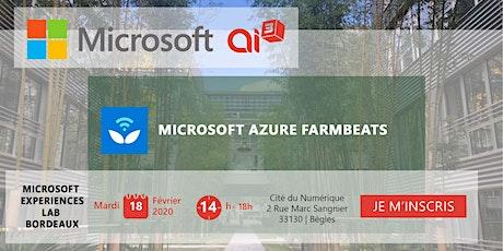 Evénement Microsoft Azure FarmBeats billets