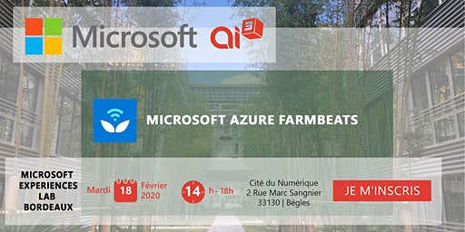 Evénement Microsoft Azure FarmBeats