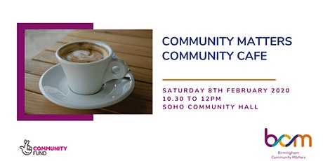 Community Matters Cafe - Handsworth tickets