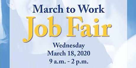 Cumberland County DSS                                March to Work Job Fair tickets