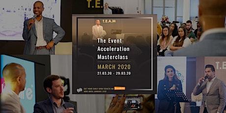 TEAM March 2020 tickets