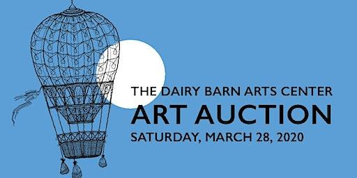 The Dairy Barn Art Center's Annual Art Auction