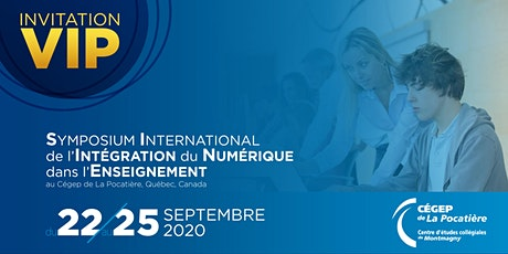 Symposium International de l'Intégration du Numérique dans l'Enseignement  billets