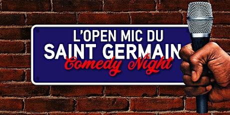 L'open mic du Saint Germain Comedy Club billets