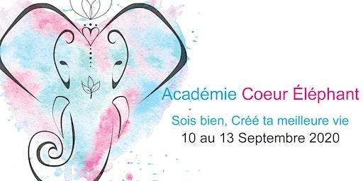 Académie Coeur Éléphant - Session Septembre 2020
