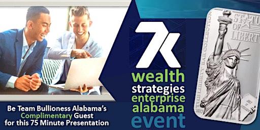 """Real Money"" WEALTH STRATEGIES Event ENTERPRISE, AL (Guests FREE)"