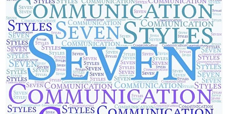 Seven Communication Styles that help build teams...one person at a time tickets