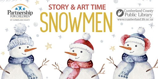 Snowmen themed Story & Art Time