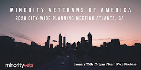Minority Veterans of America - City Wide Planning Meeting (Atlanta) tickets