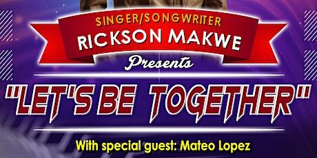 Rickson Makwe at the Park Theatre tickets
