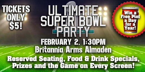 The Ultimate Super Bowl Party!