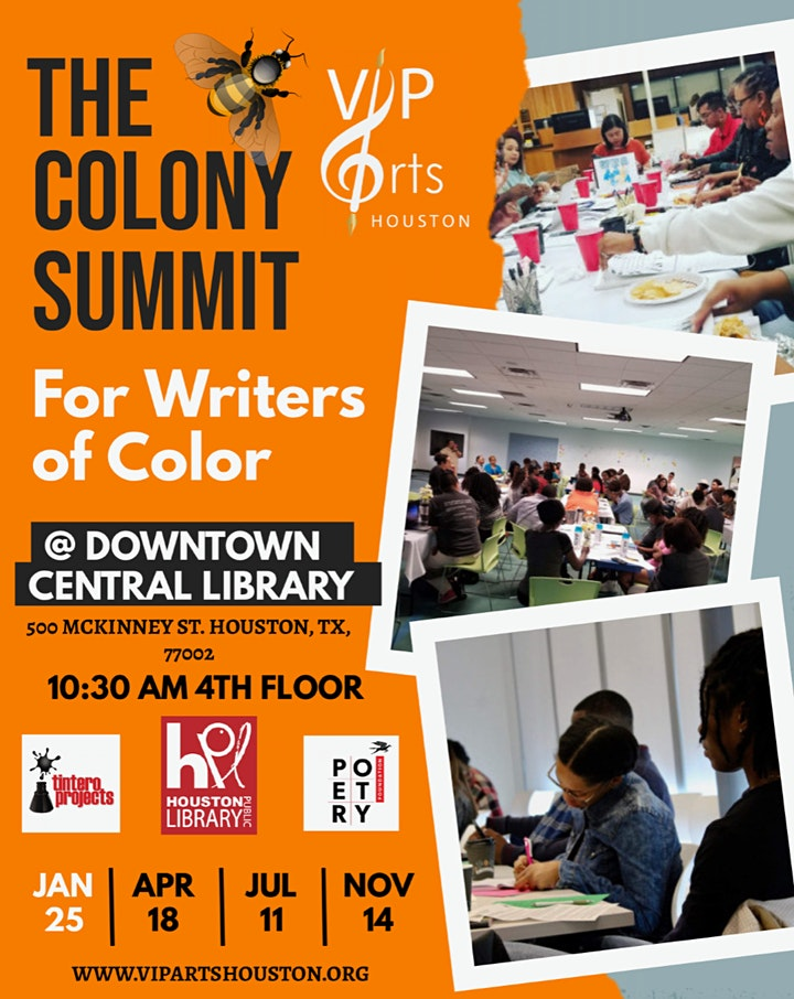 The Colony Summit for Writers of Color image