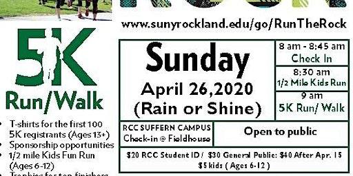 Run the Rock 2020 - 5K Fun Run/Walk in Support of Veterans' Services