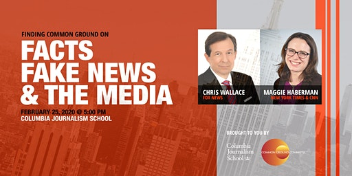 Finding Common Ground On Facts, Fake News & the Media