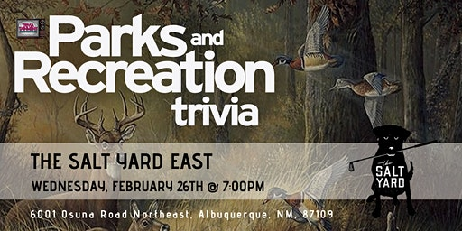 Parks & Rec Trivia at Salt Yard East