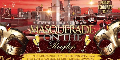 Valentine's Day Masquerade On The Rooftop