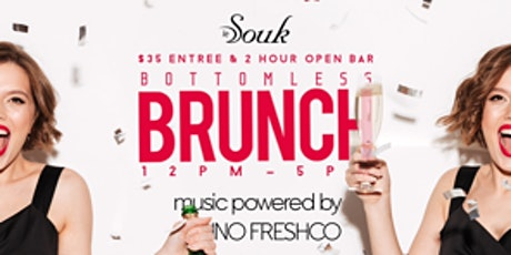 2hr Bottomless Party Brunch at Le Souk (Saturday) tickets