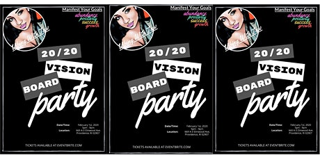 20/20 Vision Board Party! tickets