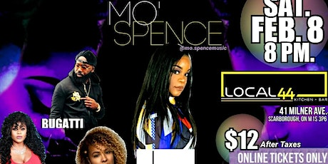 The Orange Mic Presents Mo' Spence tickets