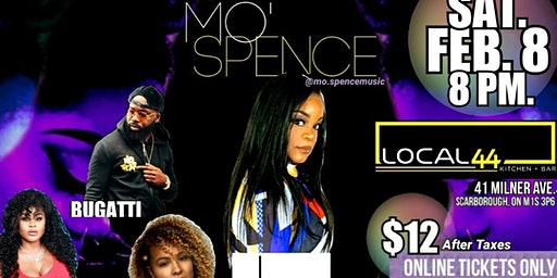 The Orange Mic Presents Mo' Spence