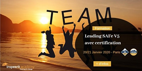 Formation Leading SAFe V5 janvier 2020 tickets