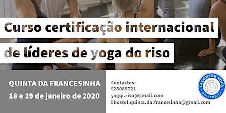 Formação com Certificação Internacional de Líder Yoga do Riso bilhetes
