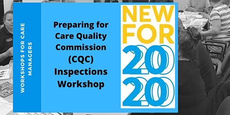 Preparing for Care Quality Commission (CQC) Inspections Workshop tickets