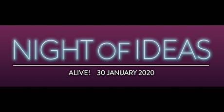Night of Ideas 2020 tickets