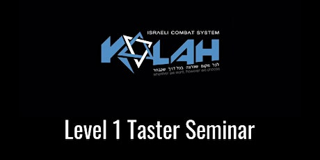 Kalah Level 1 Taster Weekend tickets