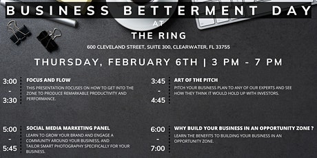 Business Betterment Day with The Ring tickets